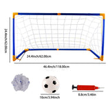 Large Size Portable Folding Soccer Net