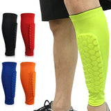 Shin Guards Protector Honeycomb Compression Sleeves