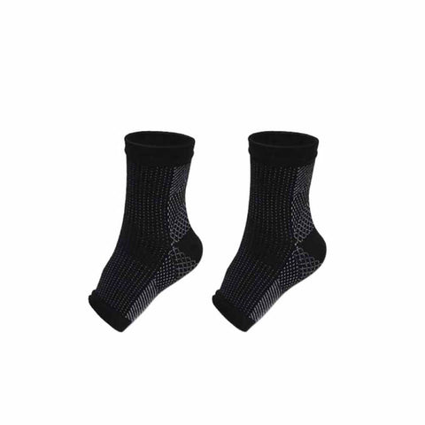 1pair Support Ankle Socks
