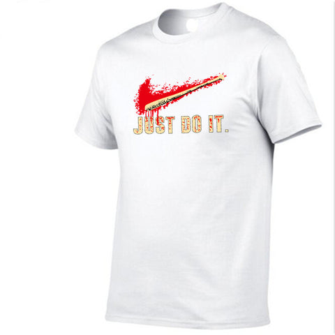 Branded T Shirt Baseballer Bat Just Do It!