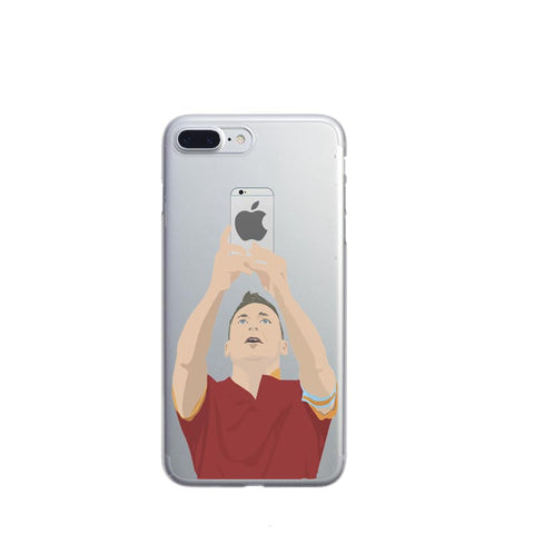 Soccer Star Hard Phone Case Cover for iPhone