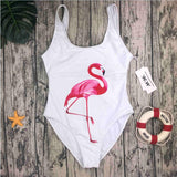 One Piece Printed Summer Bathing Suit