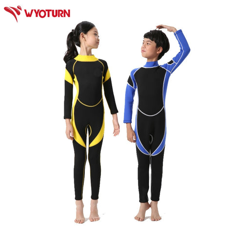 Long Sleeve Kids Wetsuits