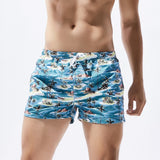 Breathable Printed Swim Trunks Pants