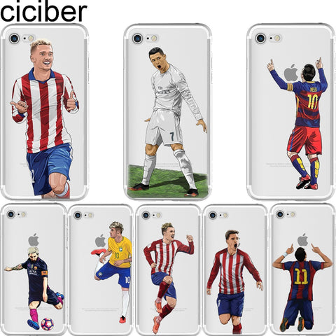 Soccer Hero soft silicone phone cases cover