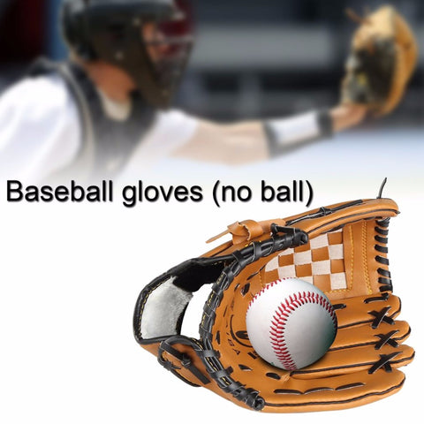 PVC Leather Baseball 10.5-12.5 Inch Glove Left Hand
