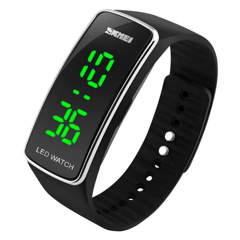 Fashion  Silicone LED Sport Digital Wrist Watch