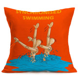 Sports Festival Pillow Case Cushion Cover