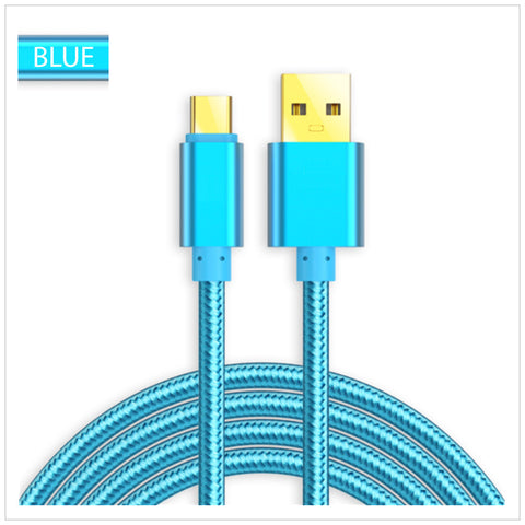 USB 3.1 Type C Sync & Charging Cable (Blue)