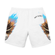 IGNORANT Skull Shorts - White