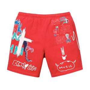 Journal Entry 1 - Shorts - Red