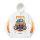 NOT A CULt x FREEBANDZ Roses Hoodie - White