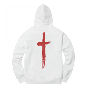 Christian Sex Club Essential Hoodie - White