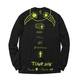 NOT A CULt Icon Longsleeve Tee - Black