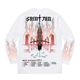 'NOT A CULt Tour' Longsleeve T - White