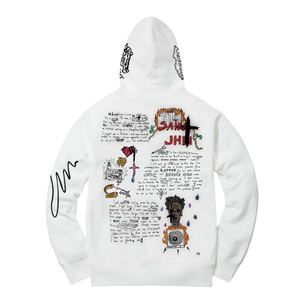 Journal Entry 1 - Hoodie - White