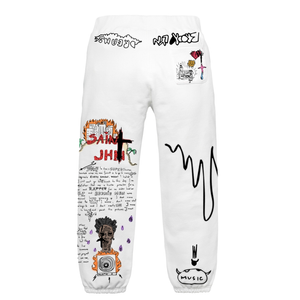 Journal Entry 1 - Sweatpants - White