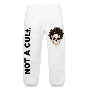 Staff Sweatpants - NOT A CULt - White