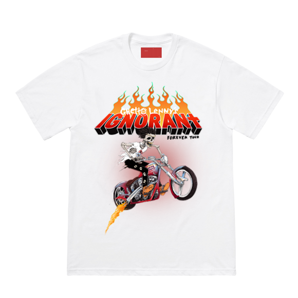 IGNORANt Forever World Tour Tee - White