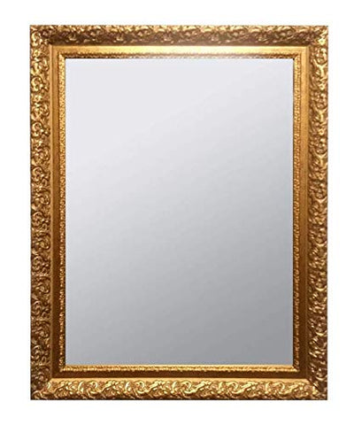Antique Gold Carved Wall Mirror - 6 different sizes