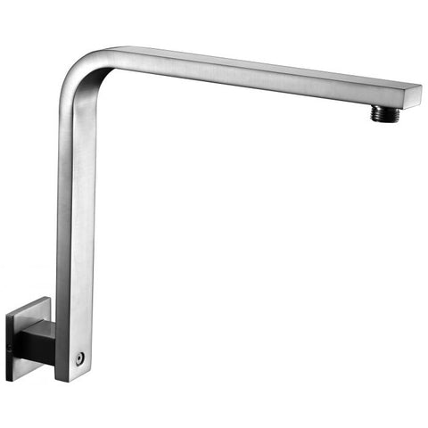 AB12GSW 12 Inch Square Raised Wall Mounted Shower Arm