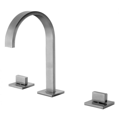 Gooseneck Widespread Bathroom Faucet MSRP: $330.00-430.00