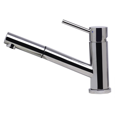 Solid Stainless Steel Pull Out Swivel Kitchen Faucet