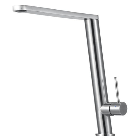 Fancy Round Modern Solid Stainless Steel Kitchen Faucet