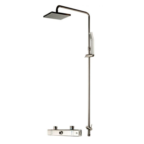 AB2862 Square Style Thermostatic Exposed Shower Set