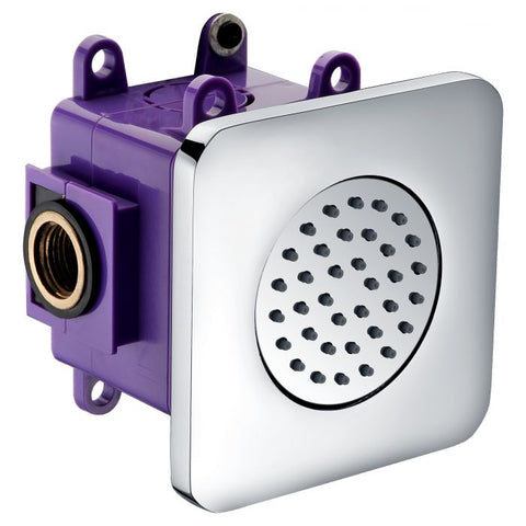 Flush Mounted Shower Body Spray MSRP: $185.00-285.00