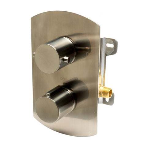 AB3809 Round Knob 1 Way Thermostatic Shower Mixer