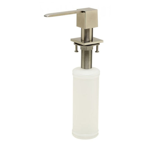 AB5007 Ultra Modern Square Solid Stainless Steel Soap Dispenser