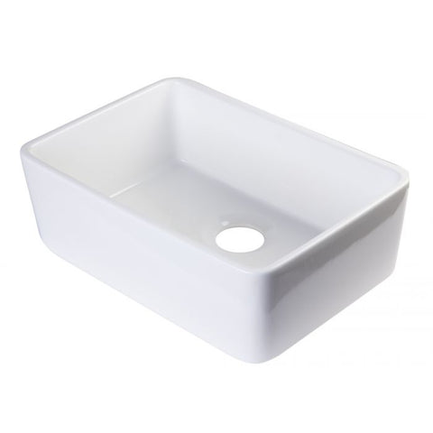 "24"" Single Bowl Farmhouse Apron Kitchen Sink"
