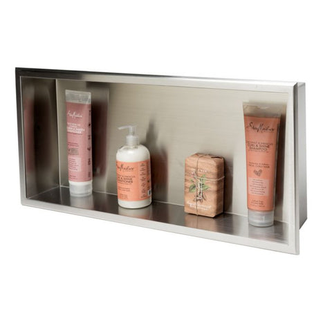 ABN2412 24 x 12 Horizontal Single Shelf Bath Shower Niche