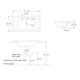 Rectangular Drop In Sink
