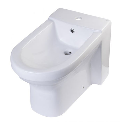 Ceramic Bathroom Bidet with Elongated Seat