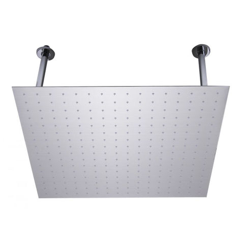 Square Ultra Thin Rain Shower Head Stainless Steel MSRP: $465.00-565.00