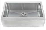 MSI 33 inch Farmhouse Apron Front Kitchen Sink Stainless Steel Single Bowl