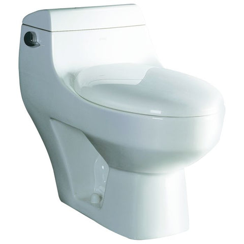 One Piece Modern High Efficiency Low Flush Eco Friendly Toilet