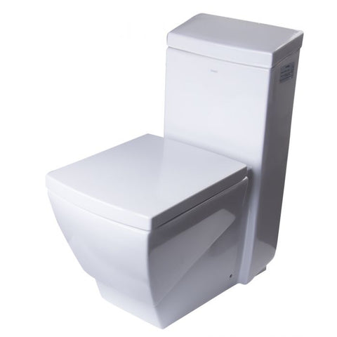 Modern One Piece High Efficiency Low Flush Eco Friendly Toilet