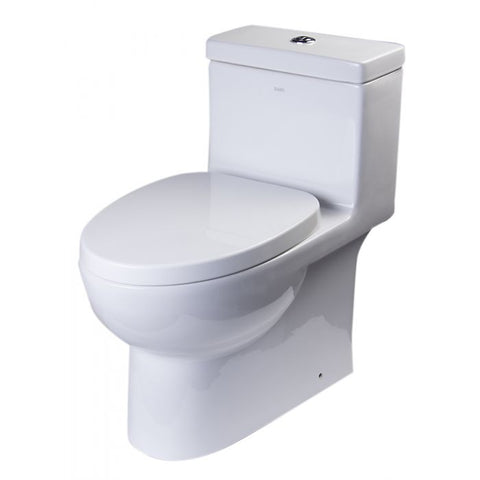 Dual Flush High Efficiency Low Flush Eco-Friendly White Toilet