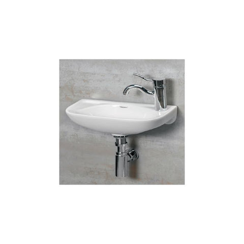 1/4″ Isabella small wall mount basin with center drain MSRP: $335.00-$435.00