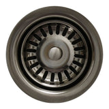 1/2'' Brass Waste Disposer Trim / Deep Fireclay Sink MSRP: $240.00-$340