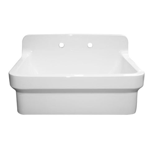 Top Mounted Laundry Sink With A High Backsplash MSRP: $1,575.00-$1675.00