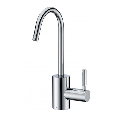 Point of Use Cold Water Faucet with Contemporary Spout
