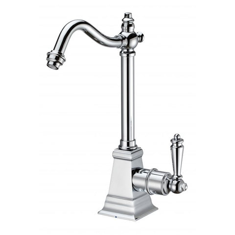 Point of Use Cold Water Faucet with Traditional Spout