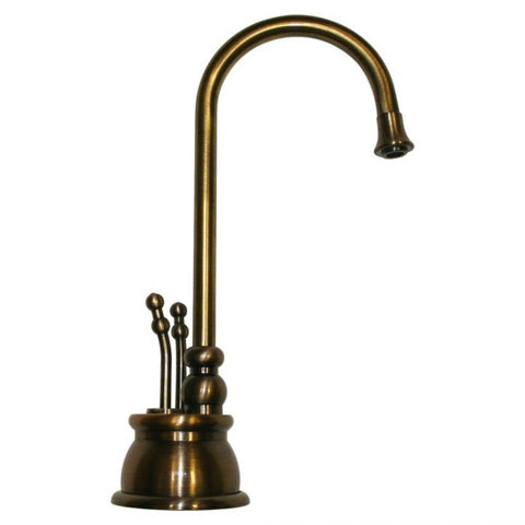 Brass Deck Mount Kitchen Hot & Cold Water Dispenser MSRP: $610.00-$710