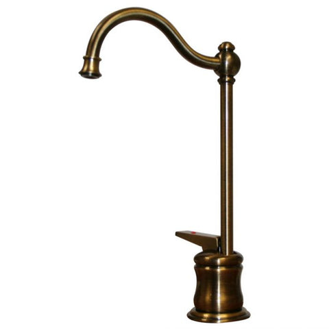 Brass Traditional Kitchen Instant Hot Water Dispenser MSRP: $510.00-$610.00