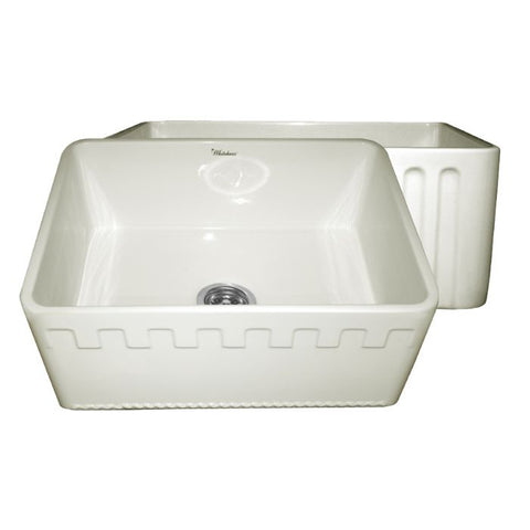 "24"" Reversible Fireclay Farmhouse Kitchen Sink"
