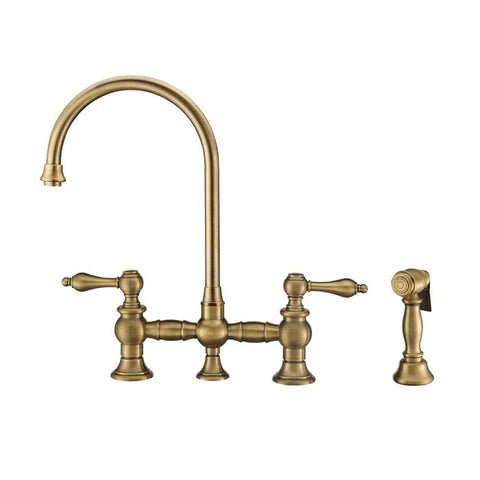 Vintage III Plus Bridge Faucet w/ Swivel Spout